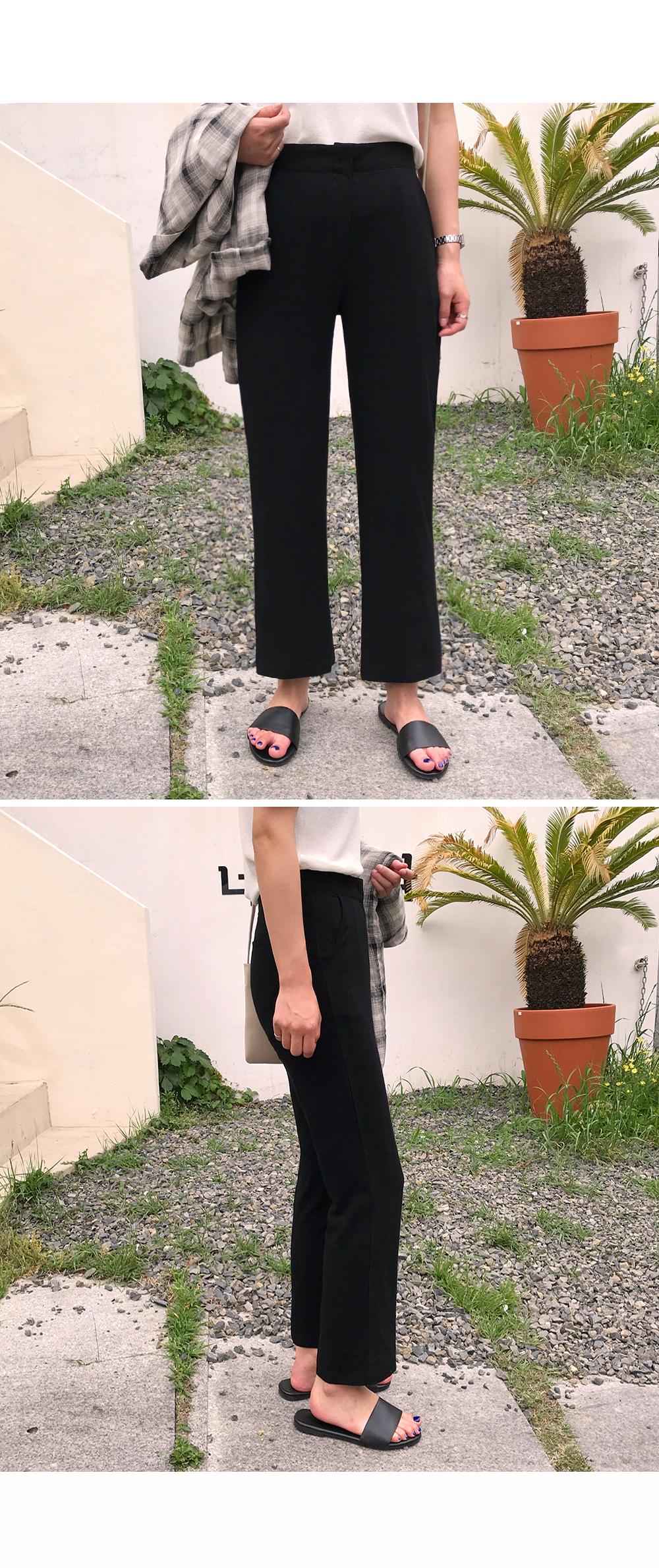 Dayz Ankle Length Linen Trousers-holiholic.com