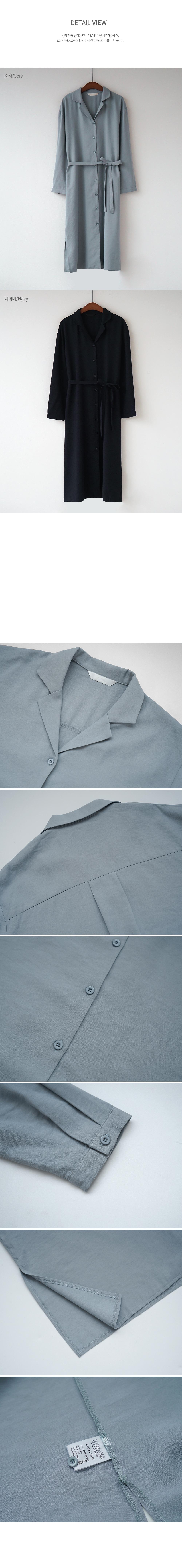 Button Up Soft Shirt Dress-holiholic.com