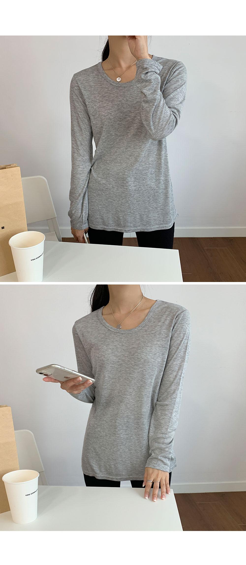 Stretch Long Sleeve T shirt  -holiholic.com