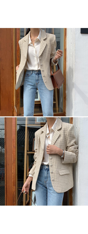 Venice Tweed Jacket-holiholic.com