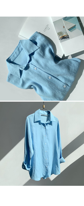 Soft Natural Daily Shirt-holiholic.com