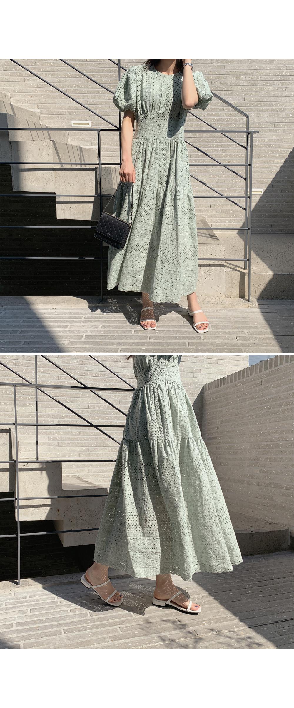 Blair Puff Sleeve Lace Dress-holiholic.com
