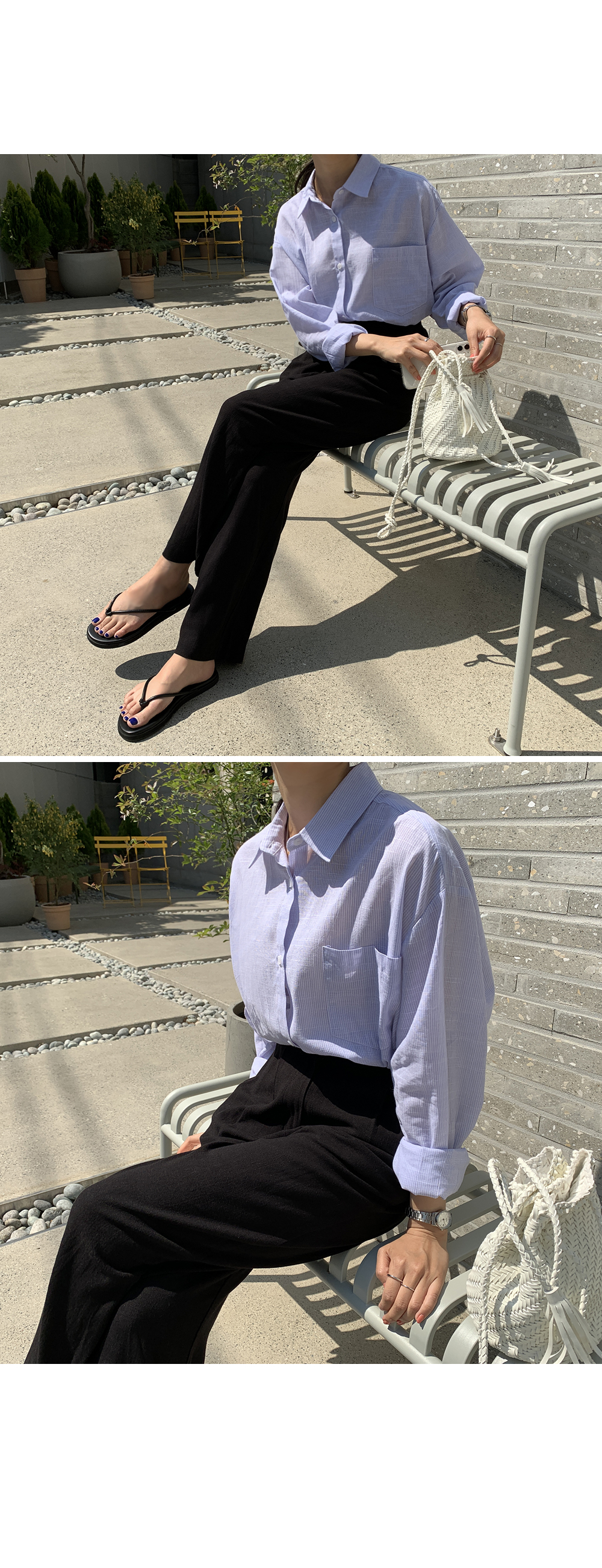 High Waist Linen Wide Pants-holiholic.com