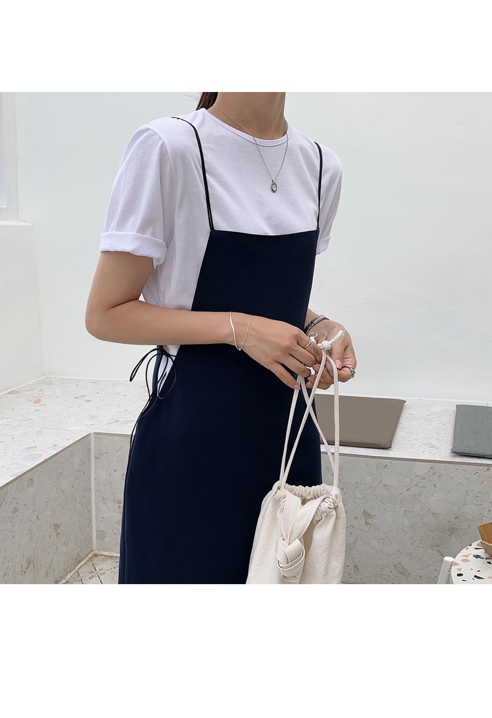 Casual Bustier Dress-holiholic.com