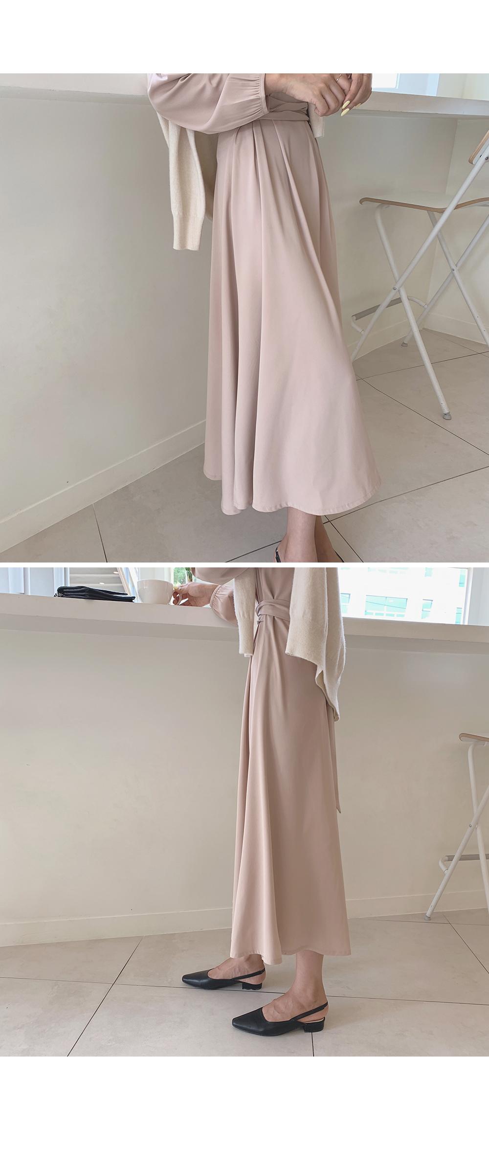 Helena Waist Strap Dress-holiholic.com