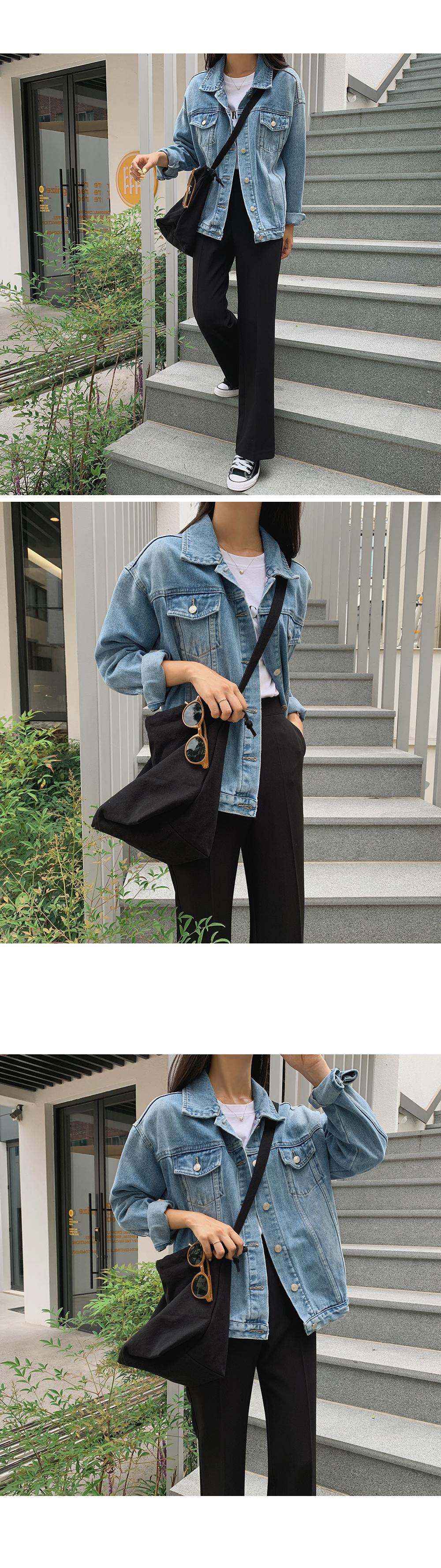 Medium Wash Denim Hood Jacket-holiholic.com