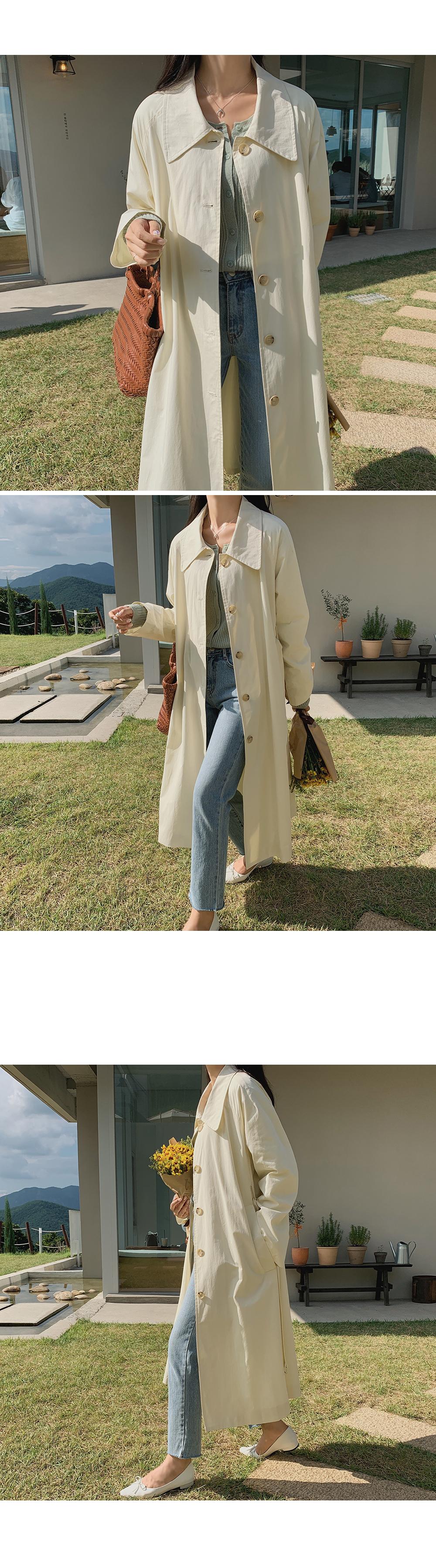 Juliet Cotton Trench Coat-holiholic.com