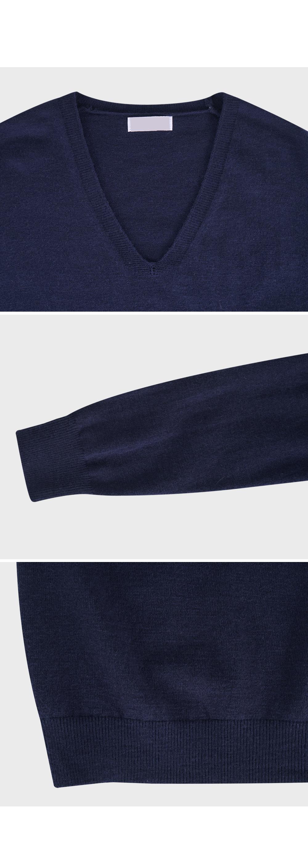 Tunic V Neck Knit-holiholic.com