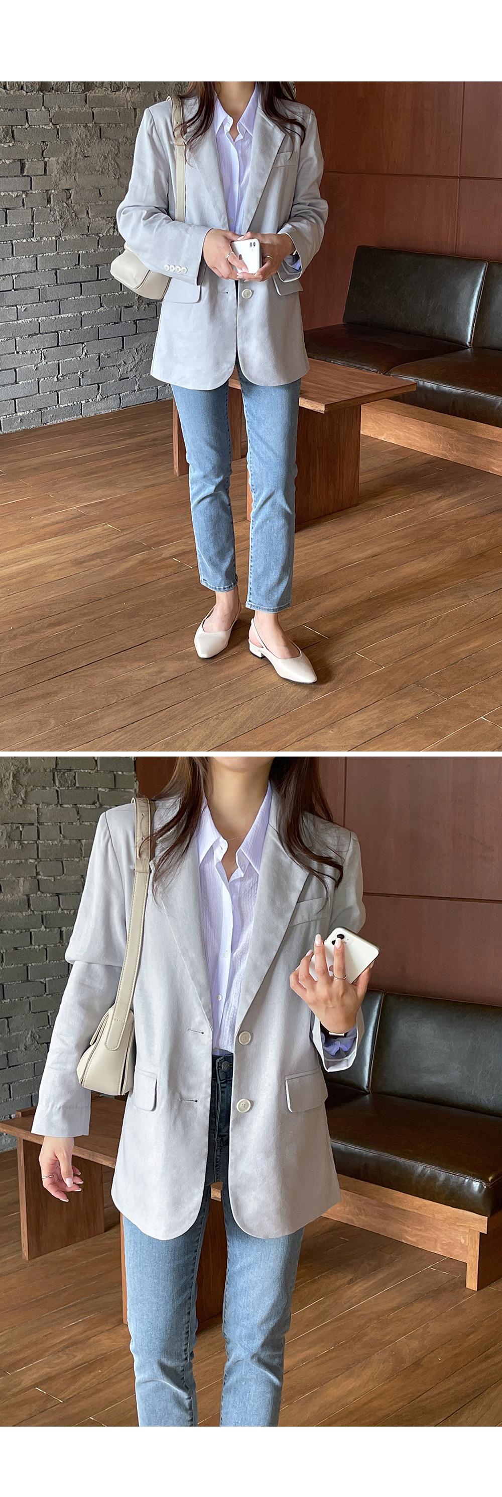 Ultimate Linen Single Blazer-holiholic.com