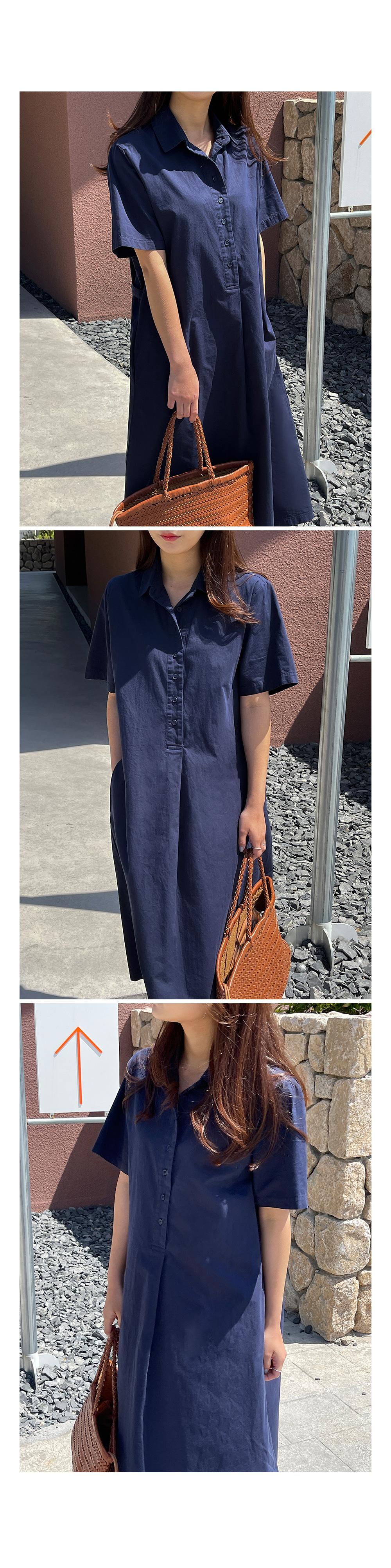 Jules Daily Cotton Shirt Dress-holiholic.com