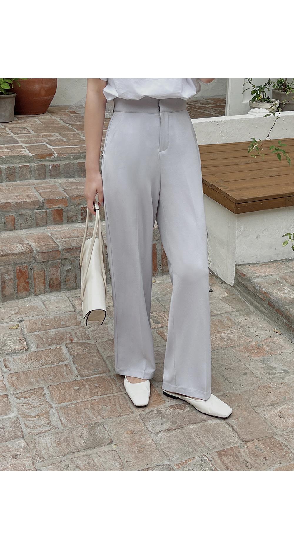Ella Summer Straight Pants- Holiholic