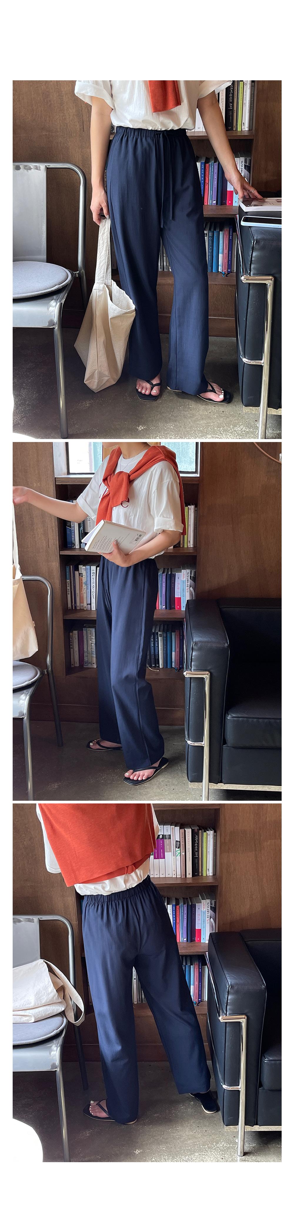 Cool Summer Comfort Linen Pants-holiholic.com