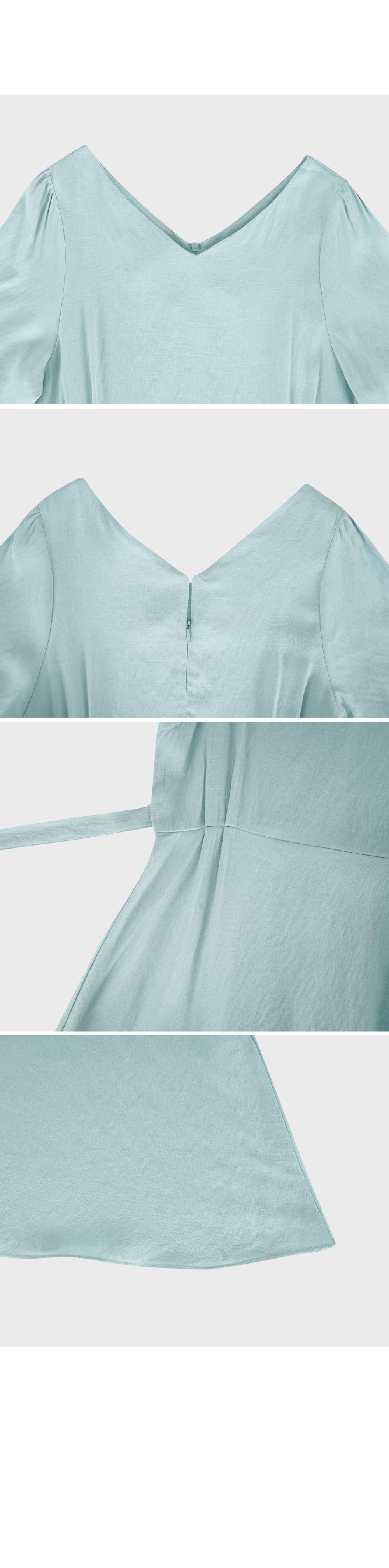 Olivia V Neck Flare Dress-Holiholic