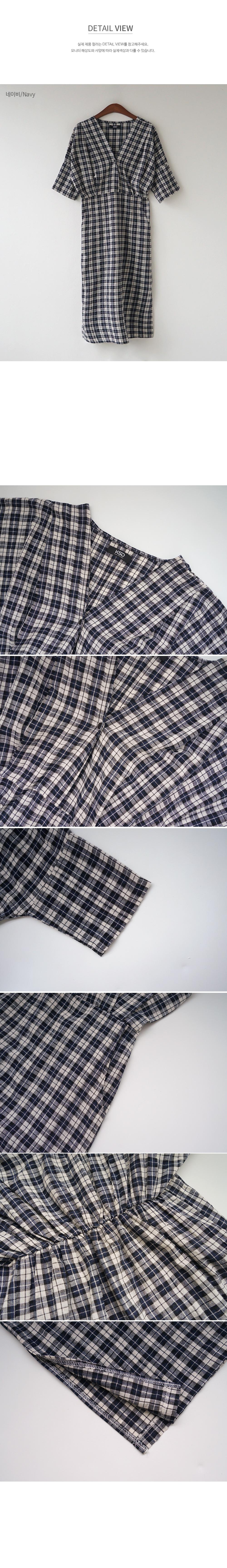 Raglan Sleeve Plaid Midi Dress-Holiholic